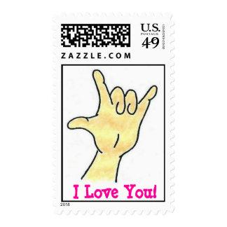 I Love You! Postage Stamp