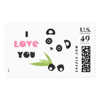 I love You Postage Stamp