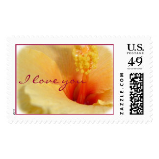 I love you postage stamps