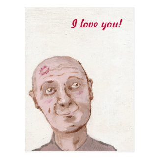 I love you! postcard
