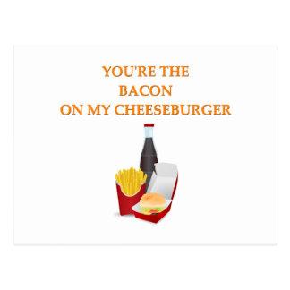 i love you post card