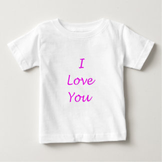i love you products infant t-shirt