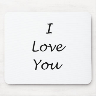 i love you products mouse pad