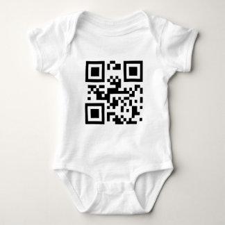 I Love You - QR Code Baby Bodysuit