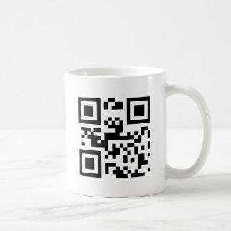 I Love You - QR Code Classic White Coffee Mug