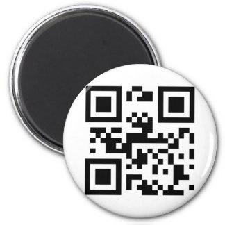 I Love You - QR Code Magnet
