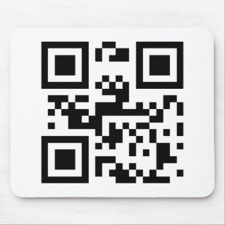 I Love You - QR Code Mouse Pad