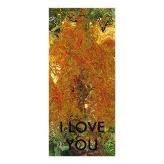I LOVE YOU RACK CARD TEMPLATE