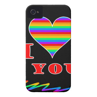 I love you rainbow design Case-Mate iPhone 4 case