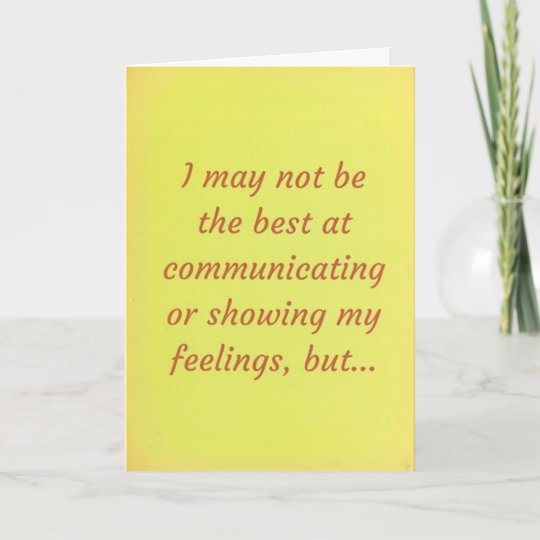 relationship apology message card
