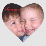 I love you! Roofridge love Heart Stickers