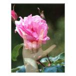 I Love You Rose Flyer Design