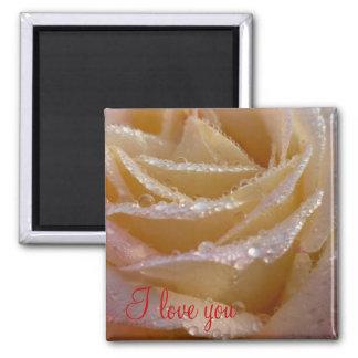 I love you rose Magnet