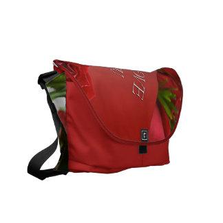 I Love You Roses Messenger Bag
