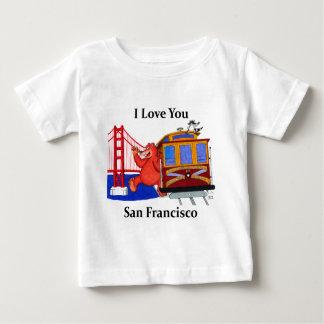 I Love You San Francisco Baby T-Shirt