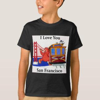 I Love You San Francisco T-Shirt