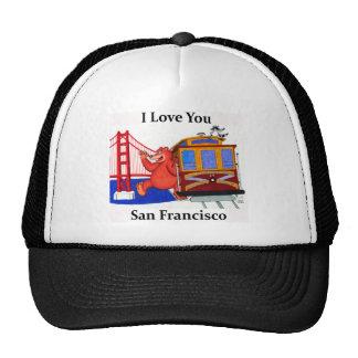 I Love You San Francisco Trucker Hat