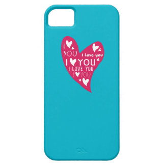I Love You - Show your love. iPhone SE/5/5s Case