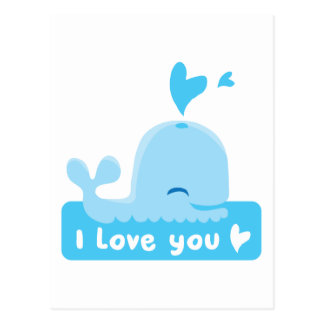 I Love You - Show your love. Postcard