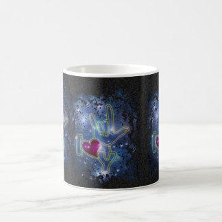 I LOVE YOU / sign language Coffee Mug