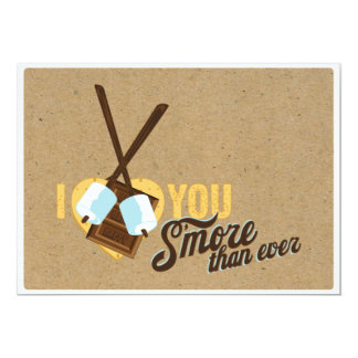 I Love You Smore than Ever - Wedding Shower Card