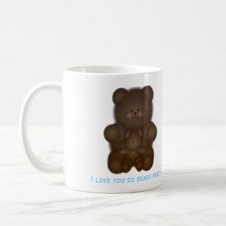 I Love You So Beary Much Mug Basic White Mug