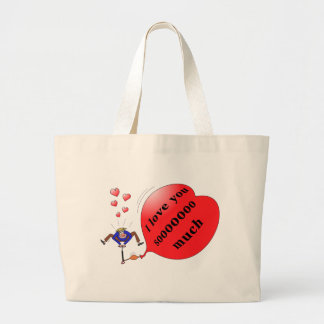 """""""I love you so much"""" bag"""