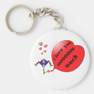 """""""i love you so much"""" keychain"""