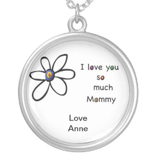 I love you so much Mommy Pendants