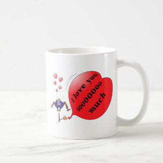 """I love you so much"" mug"