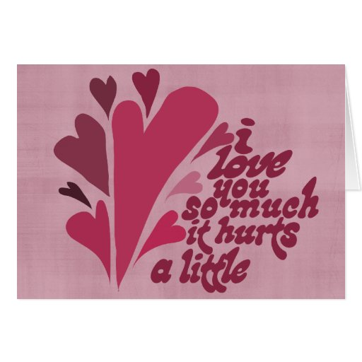 I love you so much Valentine Card