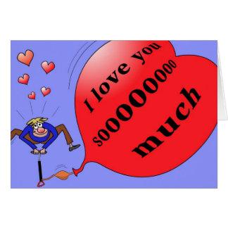 """""""I love you soo much"""" card"""