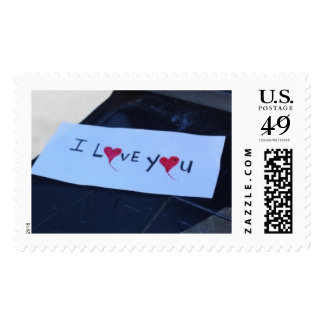 I Love You Stamps