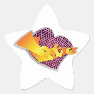 I Love You Star Sticker