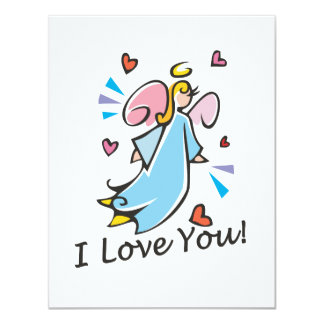I Love You Stationery Card