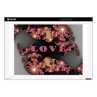"I Love You Sweetheart 17"" Laptop Decal"