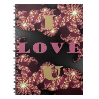 I Love You Sweetheart Notebook