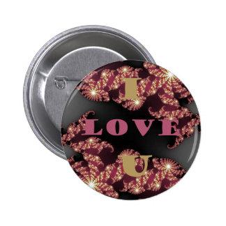 I Love You Sweetheart Pinback Button