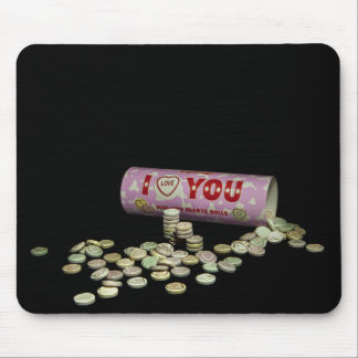 I love you sweets mouse pad
