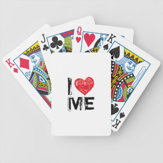 I love you t bicycle poker cards