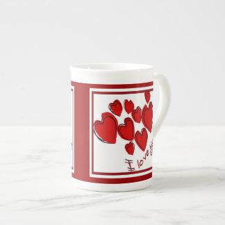I Love You Tea Cup