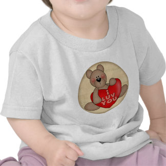 I Love You Teddy Bear T-shirts and Gifts