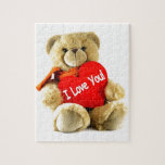 I love you, teddy love, by healing love jigsaw puzzle