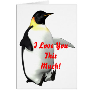 I Love You This Much! Card