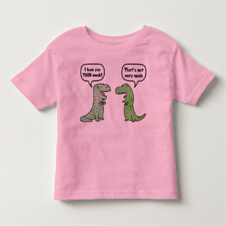 I Love You THIS Much (T-Rex) Toddler T-shirt