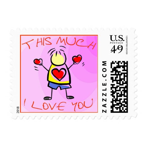 I Love You This Much v2 Stamps