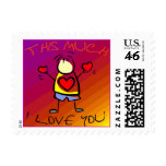 I Love You This Much v7 Stamps