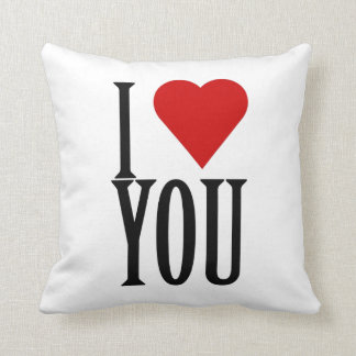I Love You - Throw Pillow