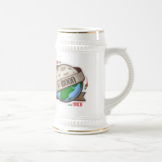 I Love You To The Moon And Back - Beer Stein