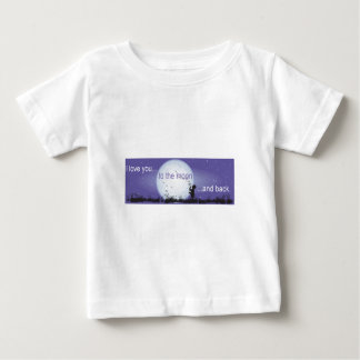 I Love You to the Moon and Back-boy blowing bubble Tees